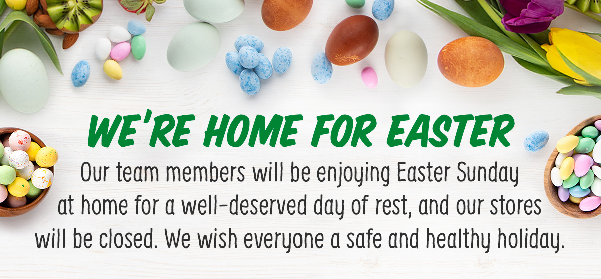 We're Home For Easter