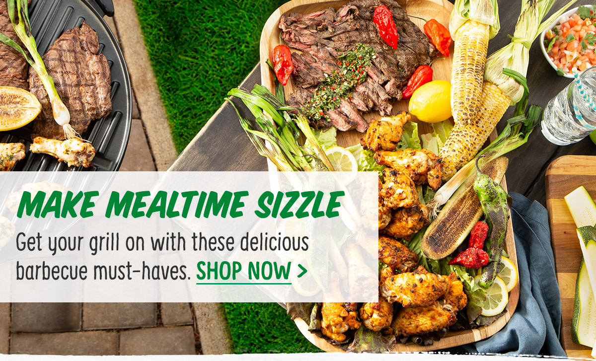 Make Mealtime Sizzle