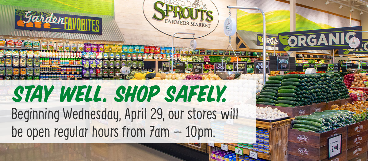 Stay Well. Shop Safely.