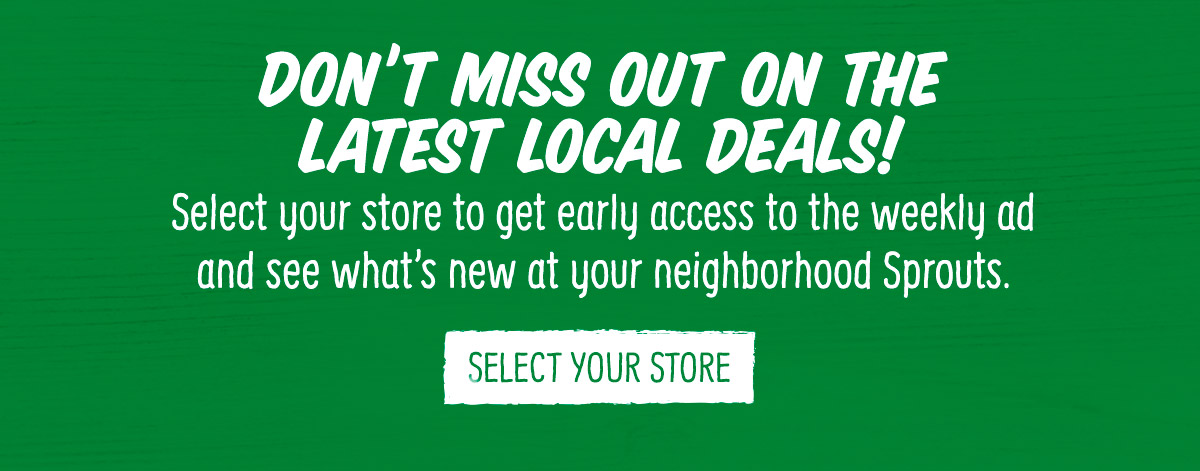 You're missing out on all the latest local deals!