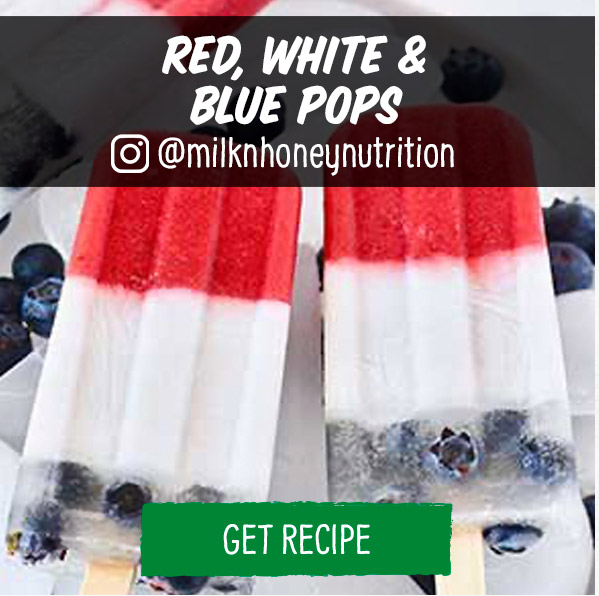 Red, White & Blue Pops
