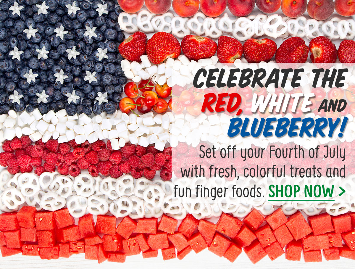 Celebrate the Red, White and Blueberry!