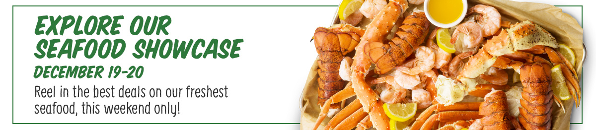 Explore Our Seafood Showcase