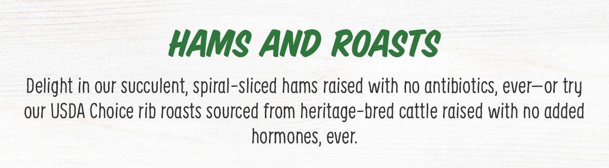 Hams and Roasts