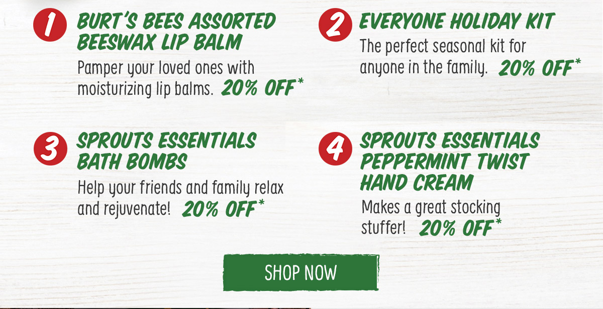 Shop Now - Body Care