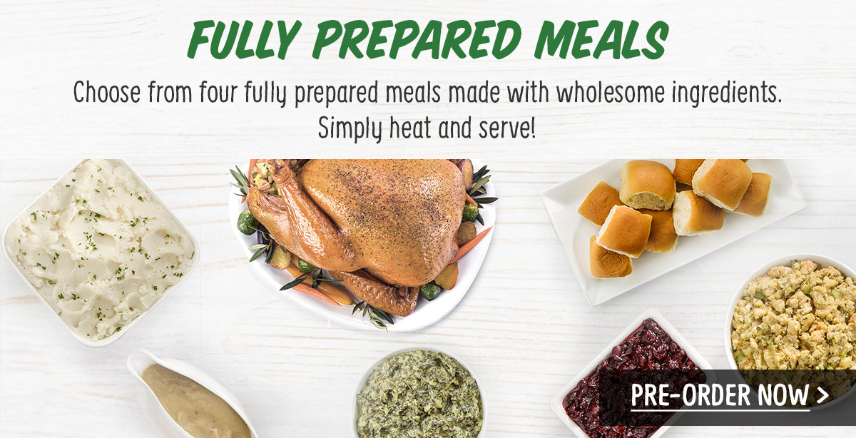Fully Prepared Meals