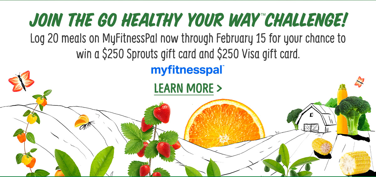 Join the Go Healthy Your Way Challenge!
