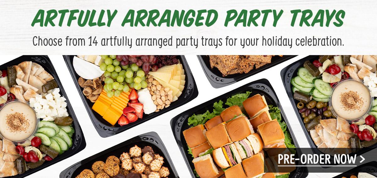 Artfully Arranged Party Trays