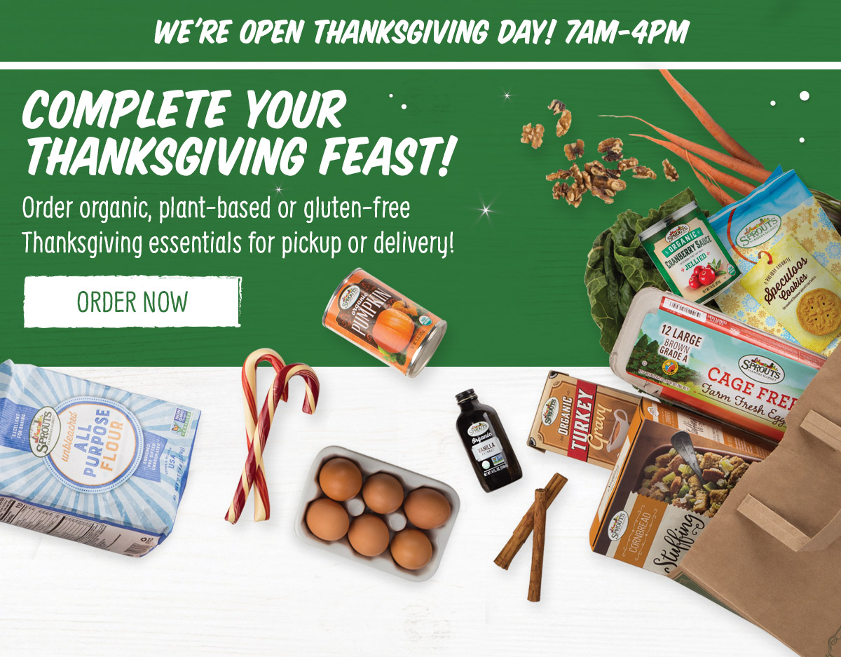 Complete Your Thanksgiving Feast!