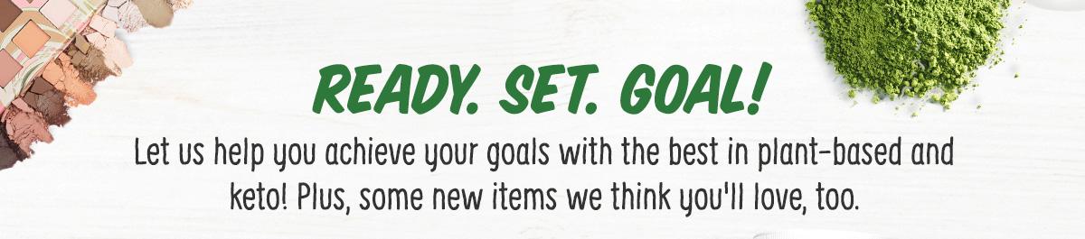Ready. Set. Goal!